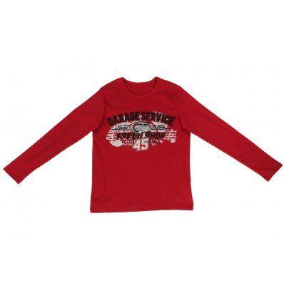 Dječaci - Majice dugih rukava - Majica crvena - Garage service