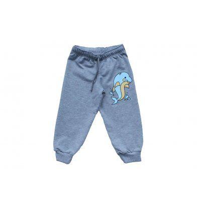 Bebe - Hlače i tajice - Baby hlače melanž svjetlo sive Dupin