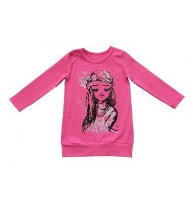 Djevojčice - Tunike - Tunika roza cura