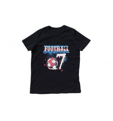 Dječaci - Majice kratkih rukava - Majica tamno plava Football