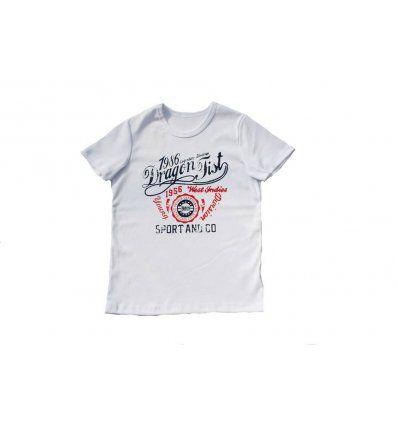 Dječaci - Majice kratkih rukava - Majica bijela Dragon Fist