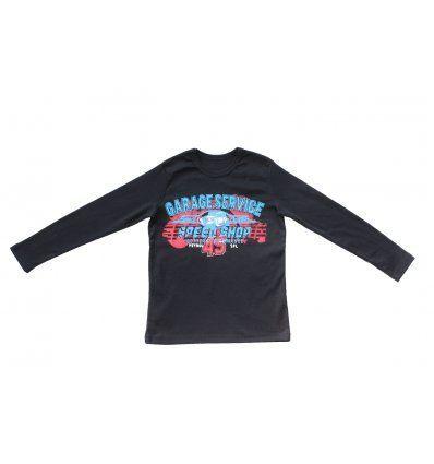 Dječaci - Majice dugih rukava - Majica tamno plava - Garage service