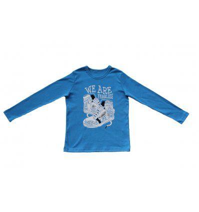 Dječaci - Majice dugih rukava - Majica svjetlo plava - Tenisice